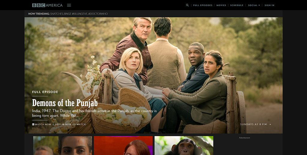 Famous WordPress Websites - BBC America