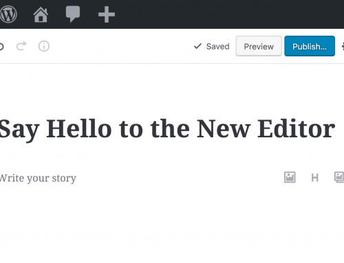 WordPress 5.0: Gutenberg Editor and how to remove it.