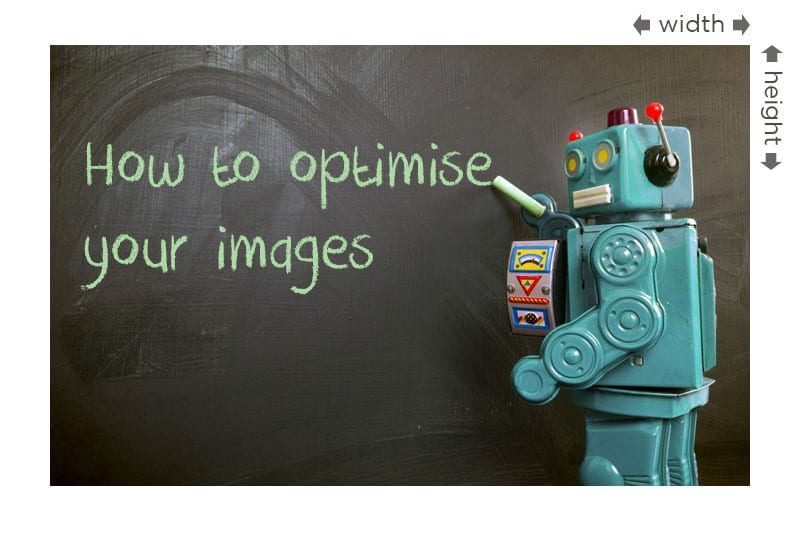 How image file size can impact website performance - aspect ratio